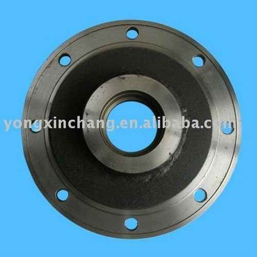 Wheel hub axle parts for forklift mast